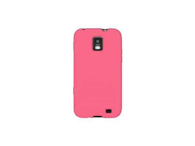Amzer Silicone Skin Jelly Case - Baby Pink For Samsung Focus S SGH-I937
