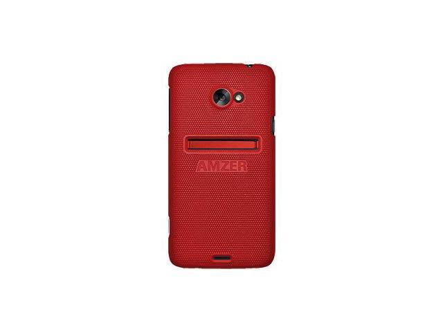 Amzer Snap On Case - Dark Red For HTC EVO 4G LTE