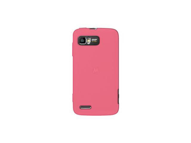 Amzer Silicone Skin Jelly Case - Baby Pink For Motorola ATRIX 2 MB865