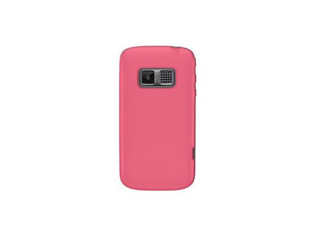 Amzer Silicone Skin Jelly Case - Baby Pink For Kyocera Brio S3015