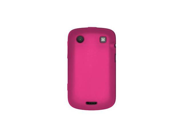 Amzer Silicone Skin Jelly Case - Hot Pink For BlackBerry Bold 9930,BlackBerry Bold 9900