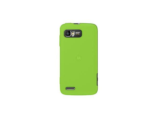 Amzer Silicone Skin Jelly Case - Green For Motorola ATRIX 2 MB865
