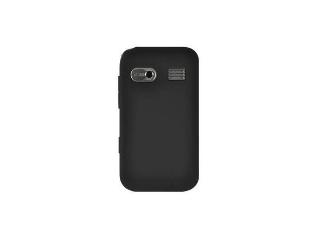 Amzer Silicone Skin Jelly Case - Black For Huawei M750