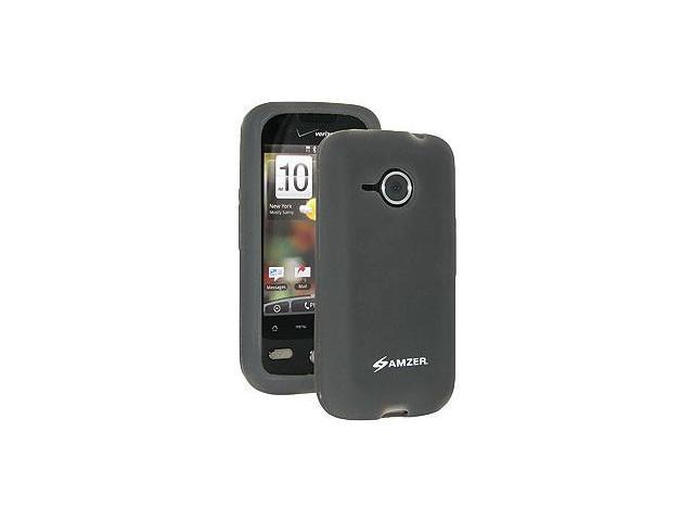 Amzer® Silicone Skin Jelly Case - Grey For HTC DROID Eris