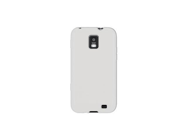 Amzer Silicone Skin Jelly Case - Transparent White For Samsung Focus S SGH-I937