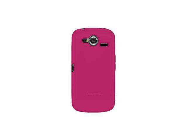 Amzer Silicone Skin Jelly Case - Hot Pink For Pantech Burst P9070