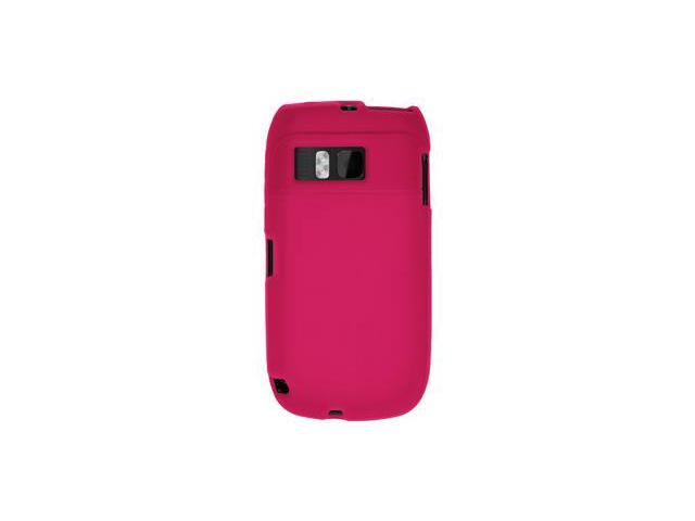 Amzer Silicone Skin Jelly Case - Hot Pink For Nokia E6-00