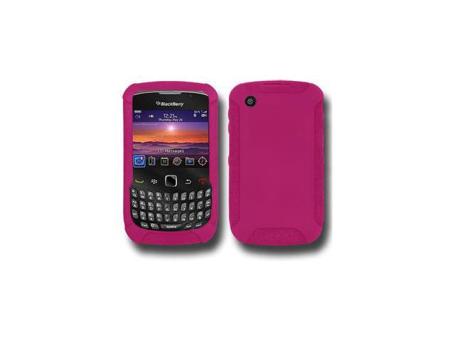 Amzer Silicone Skin Jelly Case - Hot Pink For Blackberry curve 8530,BlackBerry Curve 3G 9300