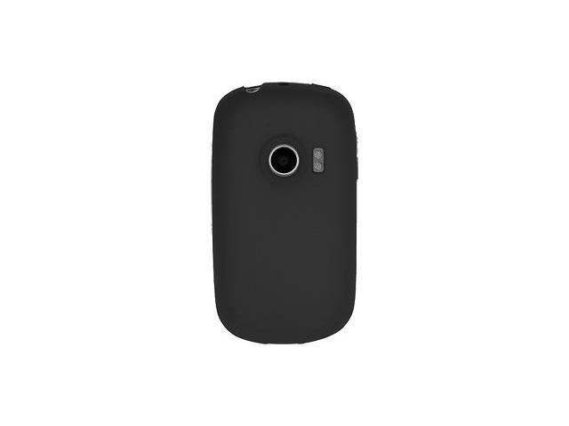 Amzer Silicone Skin Jelly Case - Black For Huawei M835