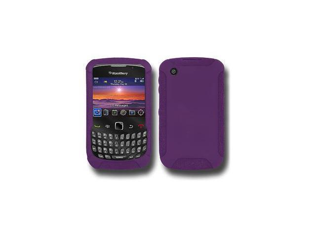 Amzer Silicone Skin Jelly Case - Purple For Blackberry curve 8530,BlackBerry Curve 3G 9300