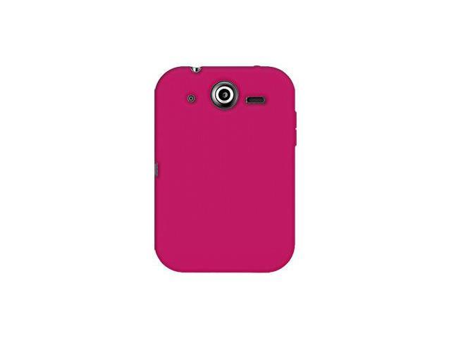 Amzer Silicone Skin Jelly Case - Hot Pink For Pantech Pocket