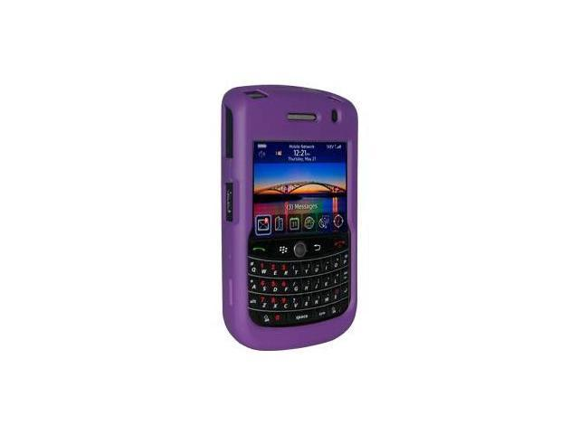 Amzer Rubberized Purple Snap on Crystal Hard Case For Blackberry Tour 9630,BlackBerry Bold 9650