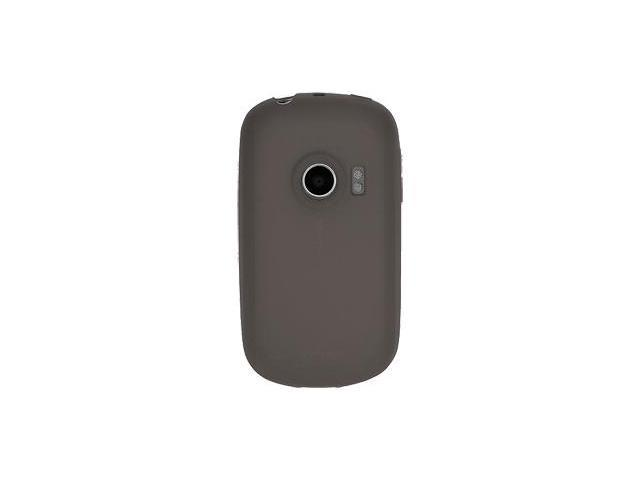 Amzer Silicone Skin Jelly Case - Grey For Huawei M835