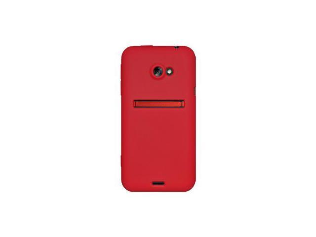 Amzer Silicone Skin Jelly Case - Red For HTC EVO 4G LTE