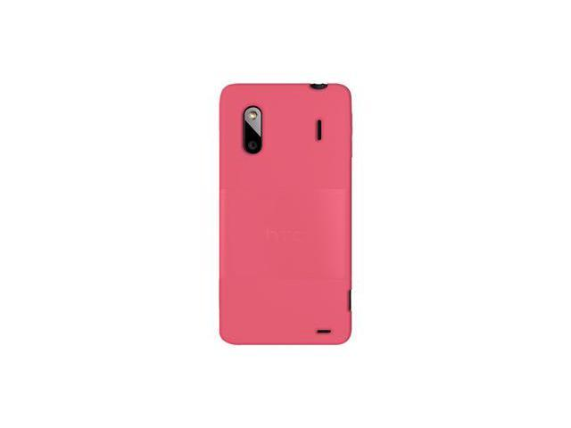 Amzer Silicone Skin Jelly Case - Baby Pink For HTC EVO Design 4G,HTC Hero S