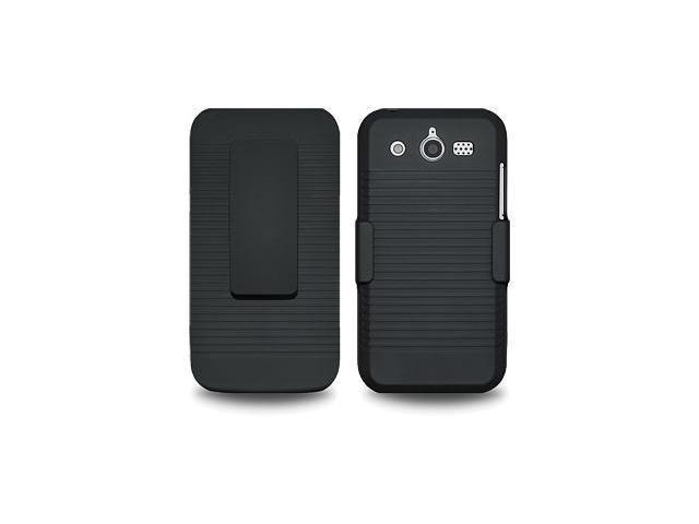 Amzer Shellster® - Black For Huawei Mercury M886