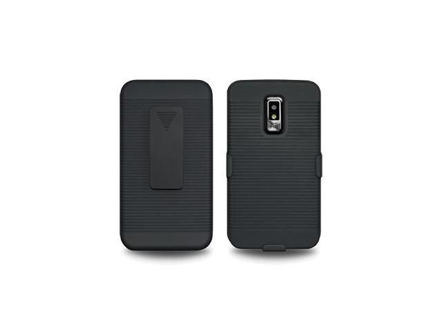 Amzer Shellster® - Black For LG Spectrum VS920