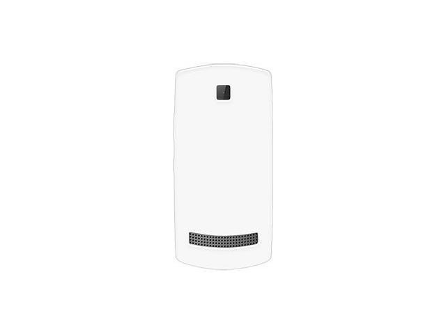 Amzer Soft Gel TPU Gloss Skin Case - White For Nokia Asha 303