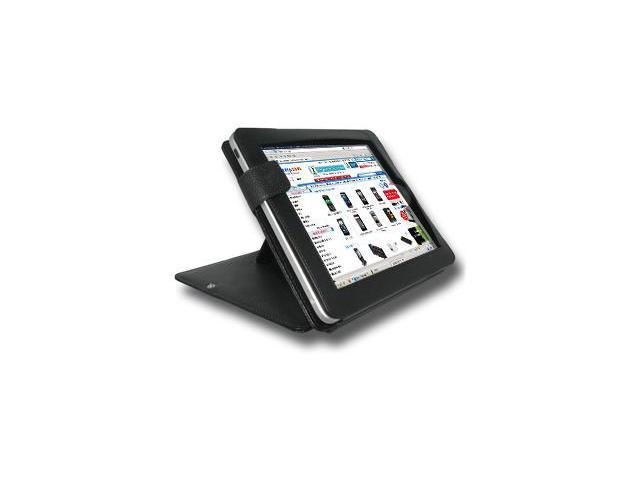 Amzer® Leather Office Portfolio with Kickstand For Apple iPad