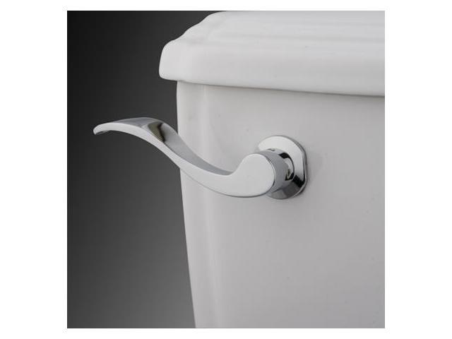 NU WAVE HANDLE FOR TANK-Polished Chrome Finish