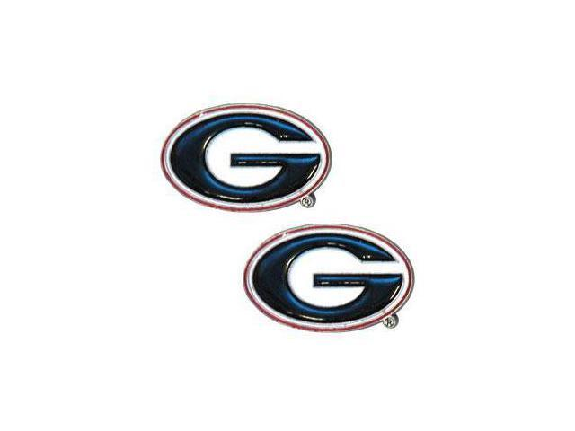 College Studded Earrings - Georgia Bulldogs