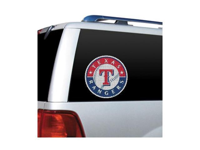 Texas Rangers -Diecut Window Film