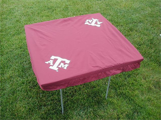 Rivalry RV395-4000 Texas A&M Card Table Cover