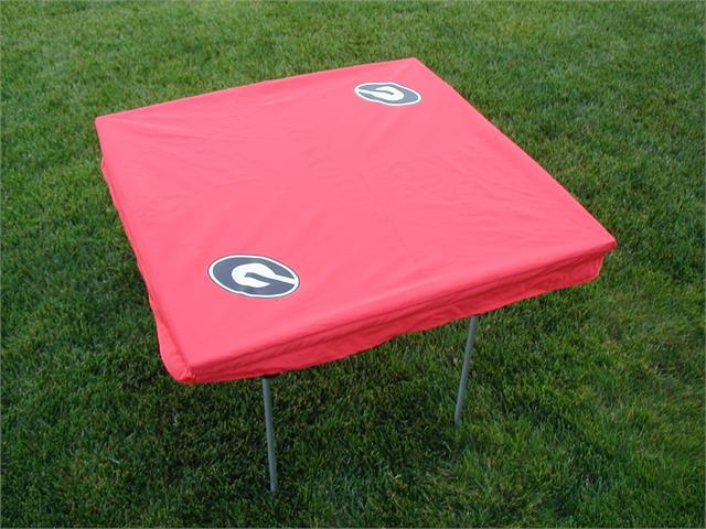 Rivalry RV203-4000 Georgia Card Table Cover