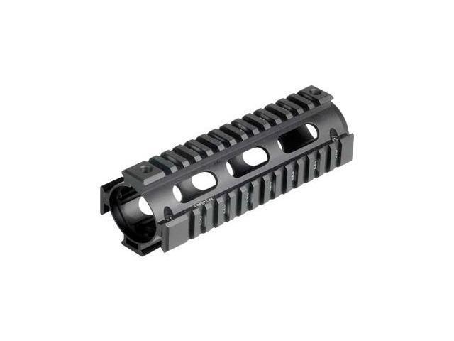 Utg Pro 4/15 Carb Quad Rail Blk