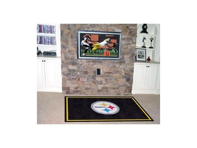 Pittsburgh Steelers Rug 4X6 46