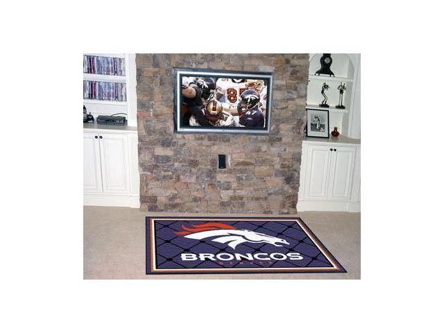 Denver Broncos Rug 4X6 46