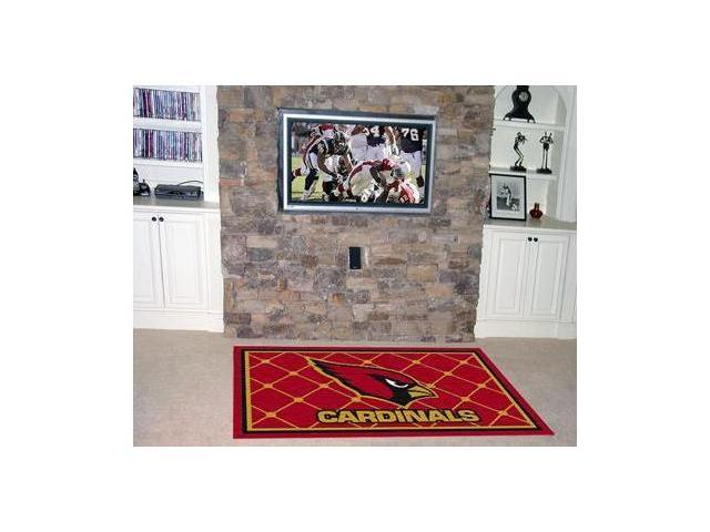 Arizona Cardinals Rug 4X6 46