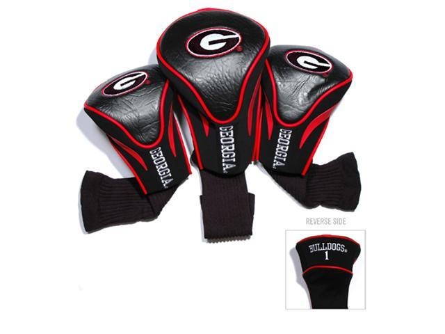 Team Golf 21194 University of Georgia 3 Pack Contour Fit Headcover