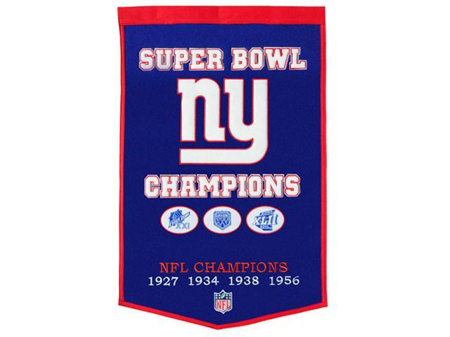 Winning Streak Sports 77065 NY Giants Banner