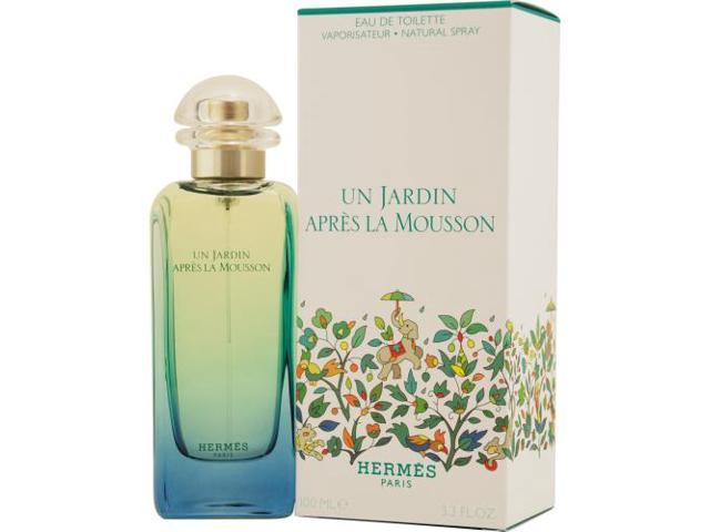 Un Jardin Apres La Mousson By Hermes Edt Spray 3.4 Oz