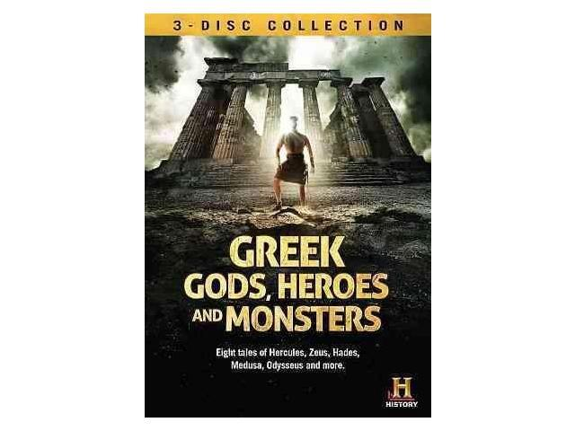 Greek Gods Heroes And Monsters