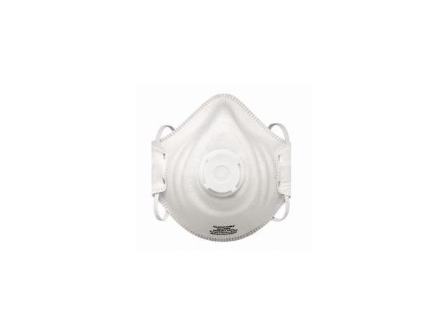 Particulate Respirator with Vent, N95, PeakFit, Molded Shell, Adjustable Head Strap