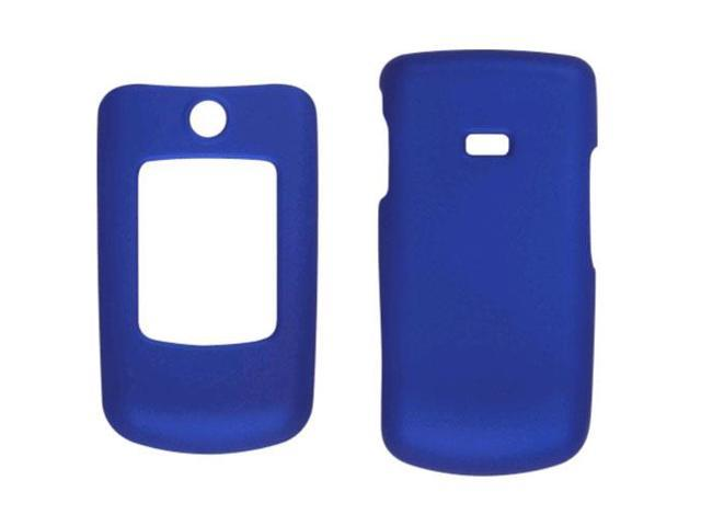 Two piece Soft Touch Snap-On Case for Samsung Contour SCH-R250 - Cobalt Blue