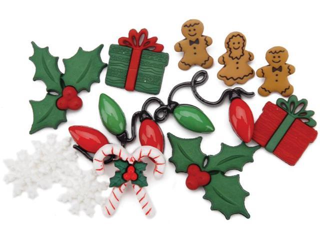 Dress It Up Embellishments-Christmas