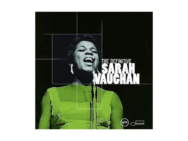DEFINITIVE SARAH VAUGHAN