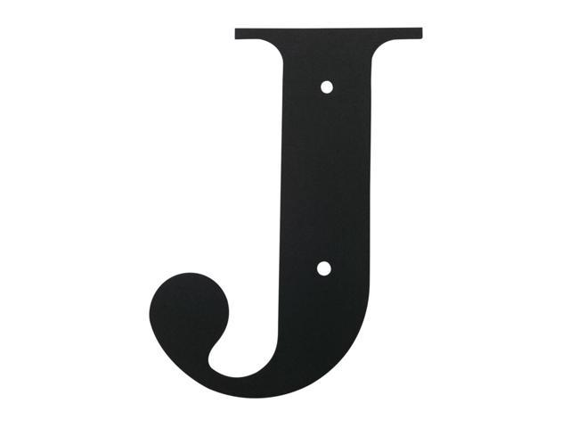 Village Wrought Iron LET-J-M Letter J Medium