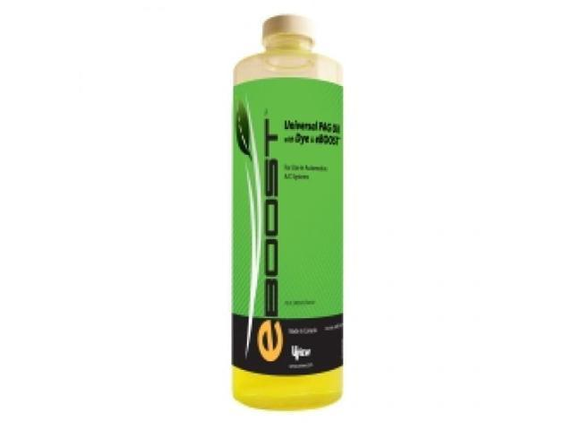 Universal PAG Oil with Dye and eBoost - 16 oz./480ml Bottle