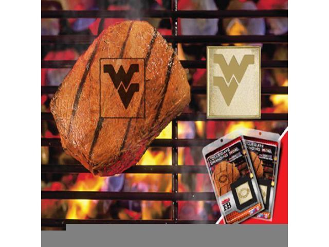 Fanmats 13140 West Virginia University Fanbrand 2 Pack 2 in. x 2 in.