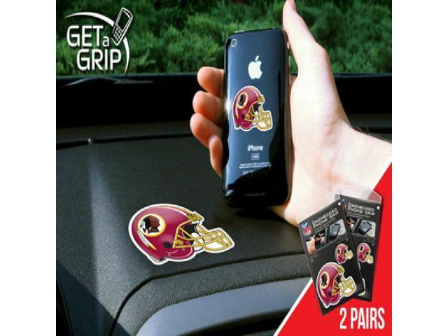 Fanmats 13106 NFL - small 1.5 in.  - large 3 in.  - NFL - Washington Redskins Get a Grip 2 Pack