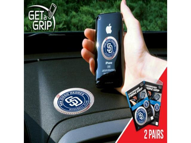 Fanmats 13083 MLB - San Diego Padres Get a Grip 2 Pack