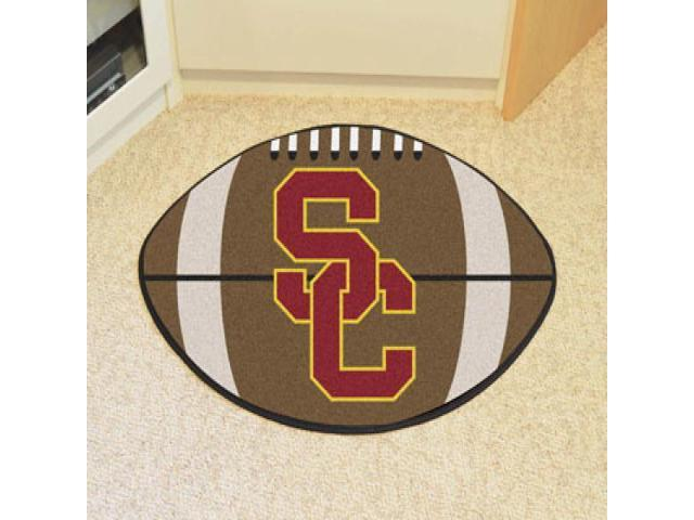 Fanmats 01342 University Of Southern California Football Rug