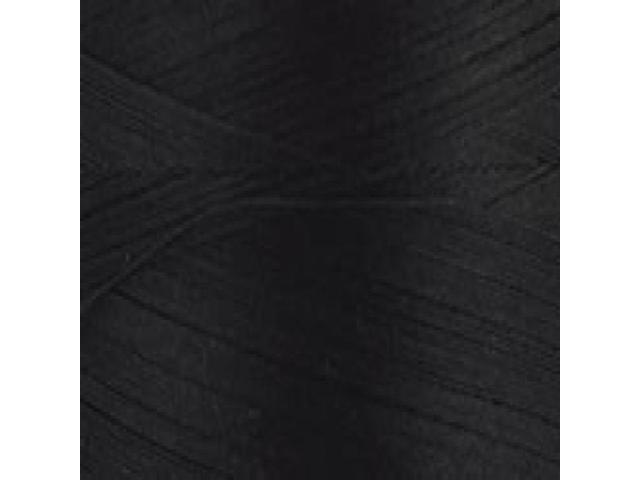 Natural Cotton Thread Solids 3,281 Yards-Black