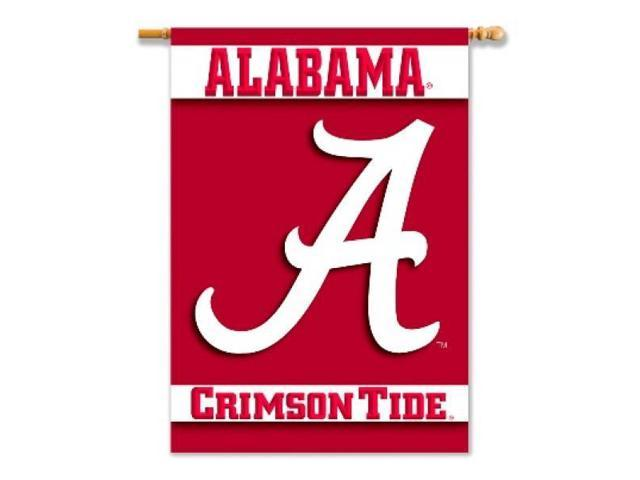 BSI PRODUCTS 96502 2-Sided 28 in. X 40 in. Banner with Pole Sleeve- Alabama Crimson Tide