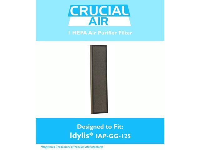 idylis air purifier filter fits iapgg125 air purifier