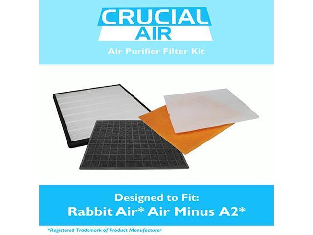 Rabbit Air Air Minus A2 Filter Kit Fits Spa 780a Spa